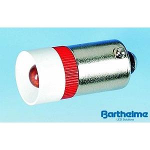 53092315, Single-LED 10x22mm, BA9s, 230V AC/DC, weiß