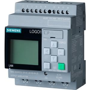 6ED1052-1FB08-0BA0, LOGO! 230RCE,Logikmodul, Displ. SV/E/A: 115V/230V/Relais, 8 DE/4 DA, SP. 400 Blöcke, modular erweiterbar, Ethernet, integr. Web-Server, Datalog, benut