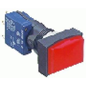 TH25 Schalter 18X24mm, Front. gerade, Steck.,IP67
