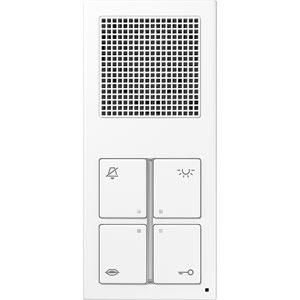 SI 4 A WW, Audio-Innenstation Standard, kompakte Aufputzausführung, bruchsicher