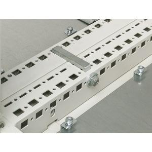 TS 8800.400, Anreihzwinge horizontal, für TS/TS TS/PS, Stahlguss, verzinkt, Preis per VPE, VPE = 4 Stück