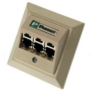 Mini-Com-Zentralplattenkit, enthält Zentralplattenrahmen 80 x 80mm, angeschrägte Zentralplatte 55 x 55mm, drei abgeschirmte CJS688TGY-Module