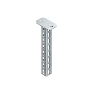 HU 5050/400, Hängestiel, U-Profil, 50x50x400 mm, Stahl, feuerverzinkt DIN EN ISO 1461