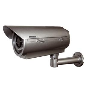 SANTEC Wetterschutzgehäuse IP-66 Alu. mit IR-LED Scheinwerfer bis ca. 70 m