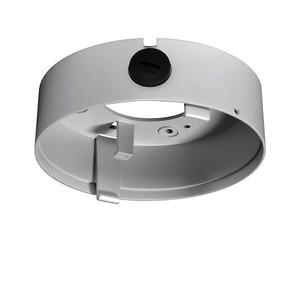 AK304, Anschlusskasten für vandalismus geschützte Kuppelkamera, tief, rund, weiß