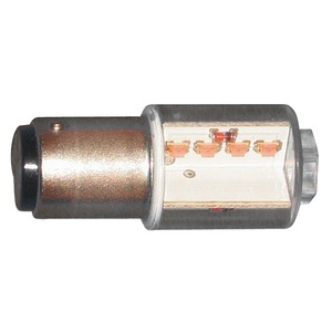 LED-Leuchte 18,5x45mm, BA15d 24/28VAC/DC weiß