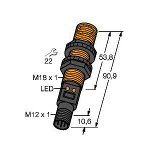 S18UBAQ, Ultraschallsensor, Reflexionstaster
