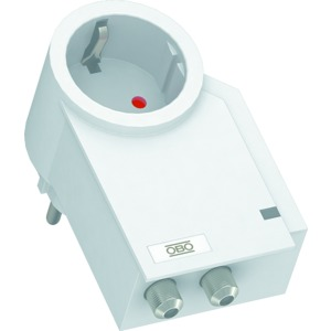 FC-SAT-D, FineController inklusive SAT-Schutz 230V, reinweiß, RAL 9010