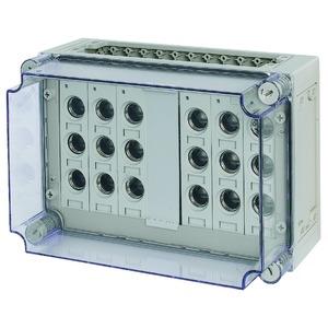 RS27/I43-200, Sicherungskasten, 6x3xE27, HxBxT=250x375x225mm