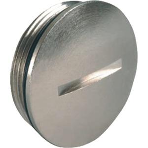 Verschlussschraube Messing M8x1.25, mit O-Ring NBR