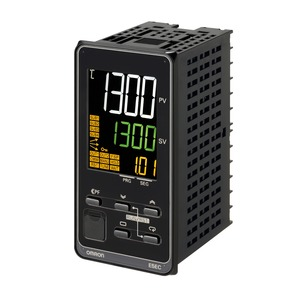 E5EC-TQX4D5M-000, Programmregler, 1/8 DIN (48 x 96), Regelausgang 1 12V DC spannungsschaltend , 4 Zusatzausgänge Relais, Universal-Eingang, 24V AC/DC,