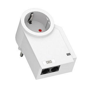 FC-ISDN-D, FineController für ISDN 230V, reinweiß, RAL 9010