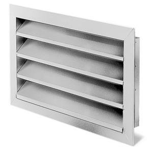 WSG 60/35, WSG 60/35, Wetterschutzgitter rechteckig Aluminium eloxiert
