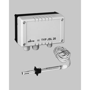 JSL-20, Luftstromwächter, elektronisch, 0...10 m/s, Fühlerlänge bis zu 150mm, Wechsler, 230 VAC, 10(3)A