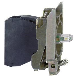 Lampenfassung, ZB4, gelb Integral LED, 230-240V