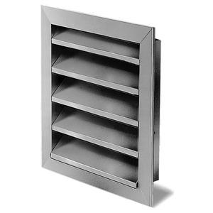 WSG 315, WSG 315, Wetterschutzgitter Aluminium natur eloxiert