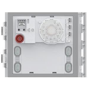 Audio-Türlautsprecher-Modul mit 4 Ruftasten in 2-Draht Technologie. Intergierter Helligkeitssensor
