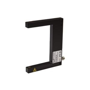 PG800375, Sensor Laser, Gabel, 100x10x80mm, Gabelweite 80mm, 10-35V DC, 1x PNP NC/NO, 200mA, M8-Stecker 3pol...