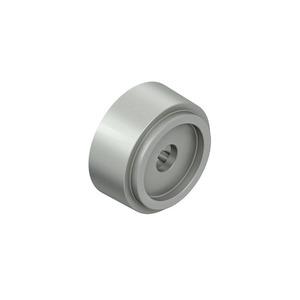 665/20.01, Abstandhalter, Höhe 20 mm, Bohrungs-Ø 6 mm, Kunststoff PA, RAL 7030, steingrau