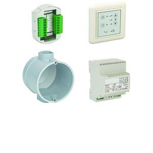ZLWE 40-4, Steuerungs-Set ZLWE 40-4 für bis zu 4 Lüftungsgeräte