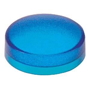 Kalotten, glatt, blau, für runden Leuchtdrucktaster Ø22mit Lampe BA9s