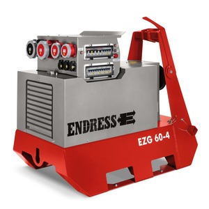 EZG 60/4 II/TN-S, Zapfwellengeneratoren - Generatordrehzahl 1500 U/min, 54,8 kVA - 400/230 V, IP 44 IT-TN