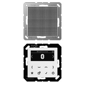 DAB A1 BT WW, Smart Radio DAB+ Bluetooth, Set Mono, Serie AS/A, alpinweiß