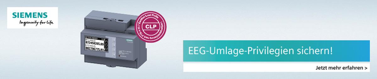 EEG Umlage Privilegien sichern