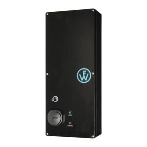 Wallbox SLIM-LINE KEY mit einem Ladepunkt Typ2 von 16A/11kW bis 32A/22kW und Basis-Monitoring-98210013