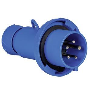 CEE Stecker, Schneidklemmen, 32A, 3p+N+E, 200-250 V AC, IP67