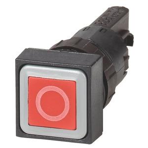 Q18D-10, Drucktaste, rot 0, tastend