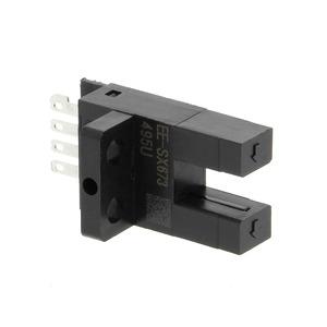 EE-SX673A, Optischer Mikrosensor, Steckplatz, bündige Montage, L-Ein/D-Ein wählbar, NPN, Steckverbinder