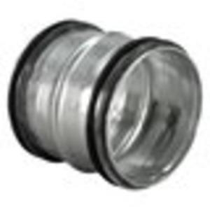 Rohrnippel/Muffe für Lüftungssysteme