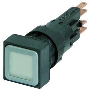 Q18LTR-WS/WB, Leuchtdrucktaste, weiß, rastend, + Glühlampe 24 V