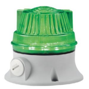 MXL1J1F240A grün, Blitzleuchte Microxenolamp Einzelblitz 240V AC grau