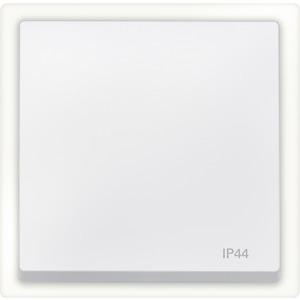 Wippe IP44, polarweiß, System M