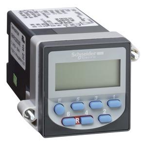 Vorwahlzähler, LCD 6-stellige Anzeige, 24 VDC, 1 Vorwahlwert