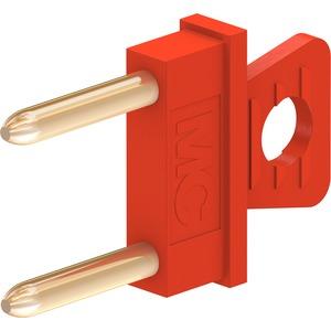 KSI1-5,08, 1mm Verbindungsstecker rot