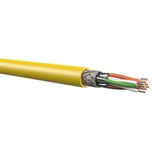 F10-125S/F 4P H, 1000m, MegaLineF10-125  S/F  500 Kat. 7A 1300 MHz , 1000 m