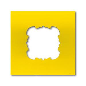 0239-0-0061, Abdeckplatte, gelb, Alu-Druckguss/Sondergeräte, EnergieversorgungseinheitEVE