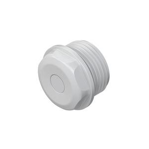 1485M20, Dichtungsstopfen, M20, für Kabel-Ø 9-12 mm, Kunststoff PE, RAL 7035, lichtgrau