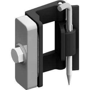 TZ607, Türscharnier 180° Ersatzteil für TwinLine-Schrankserie