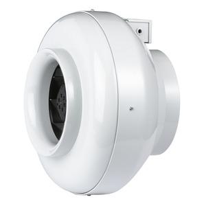 RRK 125, RRK 125, Radial-Rohrventilator, 1-PH Gehäuse aus glasfaser- verstärktem Kunststoff