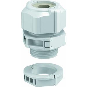 V-TEC TB20 09-13, Kabelverschraubung, teilbar Dichteinsatz, 1 Kabel M20, PC, lichtgrau