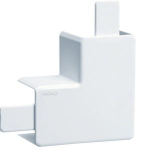 Flachwinkel PVC zu LF 30x30mm cremeweiß