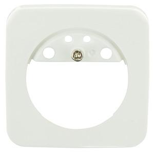 Zentralplatte Indoor 180 55x55 oval, Zentralplatte für Indoor 180 Wandschalter