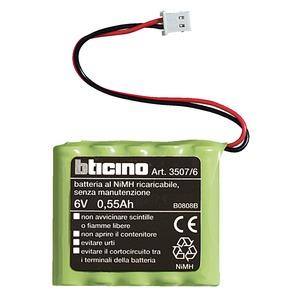 Batterie 6 V 0,5 Ah für Innensirene Art. N/NT/L4070 und Zentrale mit Wählgerät