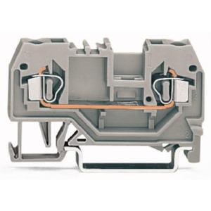 2-Leiter-Durchgangsklemme 2,5 mm² orange