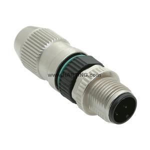 Circular Connector with Harax M 1 2/ 3-p