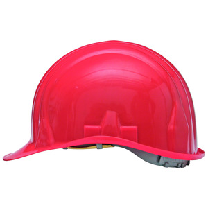 Arbeitsschutzhelm rot